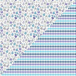 Authentique Paper - Frosted Collection - 12 x 12 Double-Sided Paper - Two