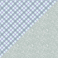 Authentique Paper - Frosted Collection - 12 x 12 Double-Sided Paper - Three