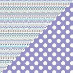 Authentique Paper - Frosted Collection - 12 x 12 Double-Sided Paper - Four