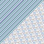 Authentique Paper - Frosted Collection - 12 x 12 Double-Sided Paper - Five