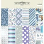 Authentique Paper - Frosted Collection - 12 x 12 Double-Sided Paper Pad
