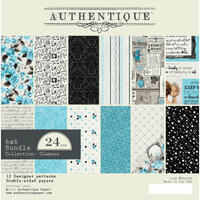 Authentique Paper - Glamour Collection - 6 x 6 Paper Pad Bundle