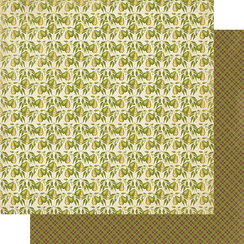 Authentique Paper - Gracious Collection - 12 x 12 Double Sided Paper - Two