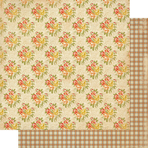Authentique Paper - Gracious Collection - 12 x 12 Double Sided Paper - Six