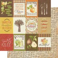 Authentique Paper - Gracious Collection - 12 x 12 Double Sided Paper - Eight