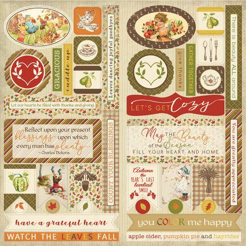 Authentique Paper - Gracious Collection - Elements
