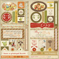 Authentique Paper - Gracious Collection - Elements