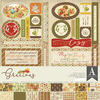 Authentique Paper - Gracious Collection - 12 x 12 Collection Kit
