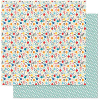 Authentique Paper - Hooray Collection - 12 x 12 Double Sided Paper - Three