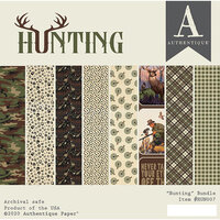 Authentique Paper - Hunting Collection - 6 x 6 Paper Pad
