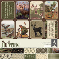 Authentique Paper - Hunting Collection - 12 x 12 Collection Kit