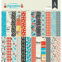 Authentique Paper - Ingredient Collection - 12 x 12 Double-Sided Paper Pad