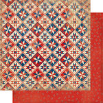 Authentique Paper - Liberty Collection - 12 x 12 Double-Sided Paper - Two