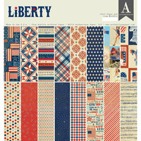 Authentique Paper - Liberty Collection - 12 x 12 Double-Sided Paper Pad