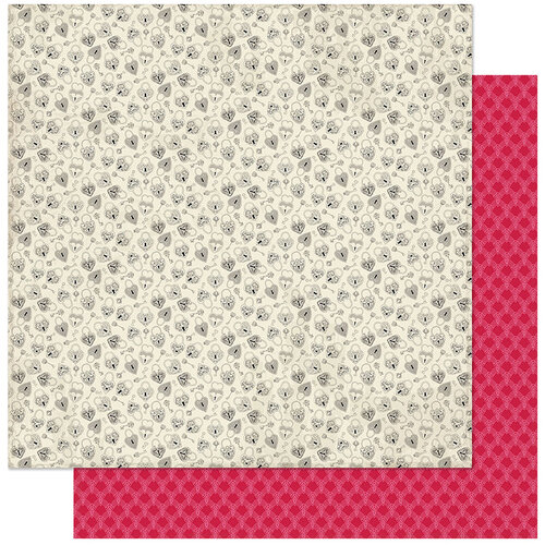 Authentique Paper - Love Notes Collection - 12 x 12 Double Sided Paper - Six