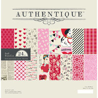 Authentique Paper - Love Notes Collection - 8 x 8 Paper Pad - Bundle