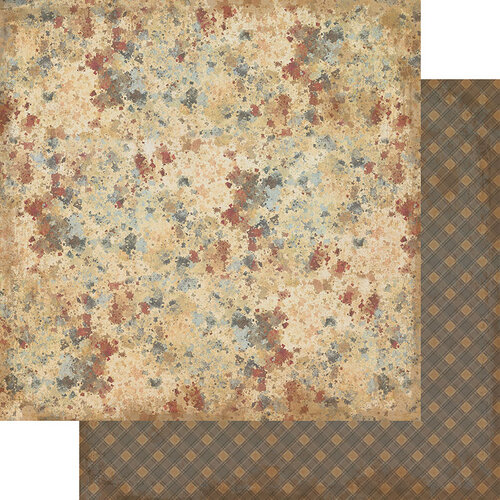 Authentique Paper - Manly Collection - 12 x 12 Double Sided Paper - Five