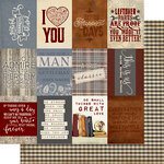 Authentique Paper - Mister Collection - 12 x 12 Double-Sided Paper - Eleven