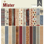Authentique Paper - Mister Collection - 12 x 12 Double-Sided Paper Pad