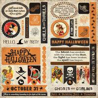 Authentique Paper - Masquerade Collection - Elements