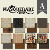 Authentique Paper - Masquerade Collection - 6 x 6 Paper Pad Bundle