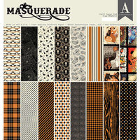 Authentique Paper - Masquerade Collection - 12 x 12 Paper Pad