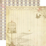 Authentique Paper - Blissful Collection - 12 x 12 Double Sided Paper - Pleasant