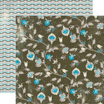 Authentique Paper - Journey Collection - 12 x 12 Double Sided Paper - Promenade