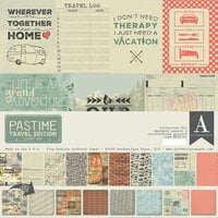 Authentique Paper - Pastime Travel Edition Collection - Collection Kit