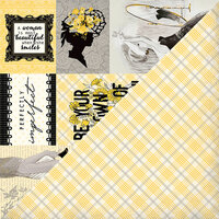 Authentique Paper - Poised Collection - 12 x 12 Double-Sided Paper - Six