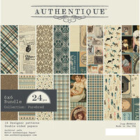 Authentique Paper - Purebred Collection - 6 x 6 Paper Pad Bundle