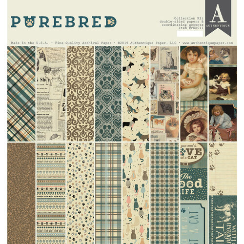 Authentique Paper - Purebred Collection - Collection Kit