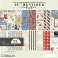 Authentique Paper - Quest Collection - 6 x 6 Paper Pad Bundle