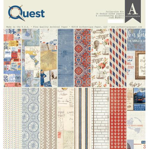 Authentique Paper - Quest Collection - 12 x 12 Collection Kit