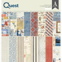 Authentique Paper - Quest Collection - 12 x 12 Collection Kit