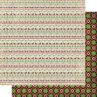 Authentique Paper - Christmas - Rejoice Collection - 12 x 12 Double Sided Paper - Two