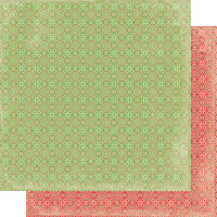 Authentique Paper - Christmas - Rejoice Collection - 12 x 12 Double Sided Paper - Three