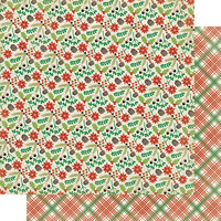 Authentique Paper - Christmas - Rejoice Collection - 12 x 12 Double Sided Paper - Four