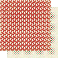 Authentique Paper - Christmas - Rejoice Collection - 12 x 12 Double Sided Paper - Seven