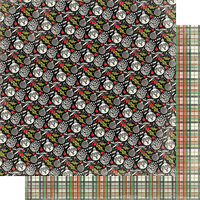 Authentique Paper - Christmas - Rejoice Collection - 12 x 12 Double Sided Paper - Eight