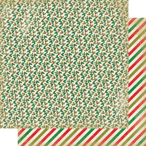 Authentique Paper - Christmas - Rejoice Collection - 12 x 12 Double Sided Paper - Nine