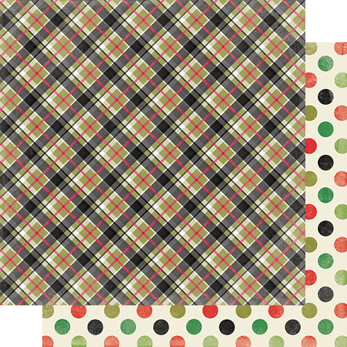Authentique Paper - Christmas - Rejoice Collection - 12 x 12 Double Sided Paper - Eleven