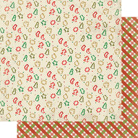 Authentique Paper - Christmas - Rejoice Collection - 12 x 12 Double Sided Paper - Thirteen
