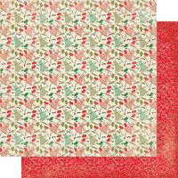 Authentique Paper - Christmas - Rejoice Collection - 12 x 12 Double Sided Paper - Sixteen