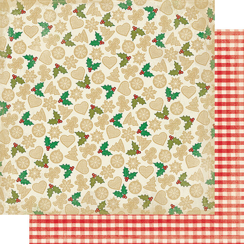 Authentique Paper - Christmas - Rejoice Collection - 12 x 12 Double Sided Paper - Eighteen