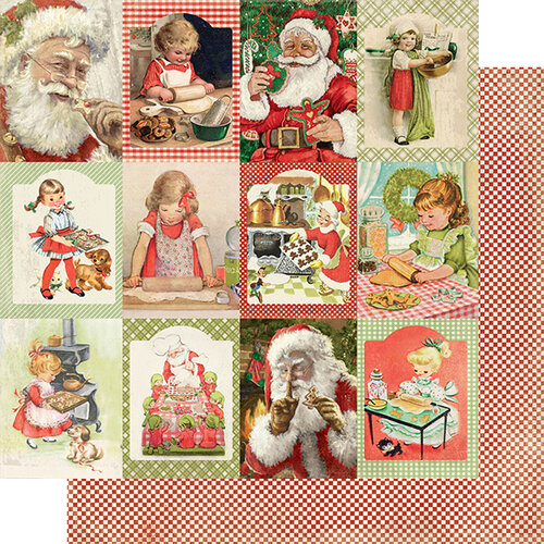 Authentique Paper - Christmas - Rejoice Collection - 12 x 12 Double Sided Paper - Nineteen