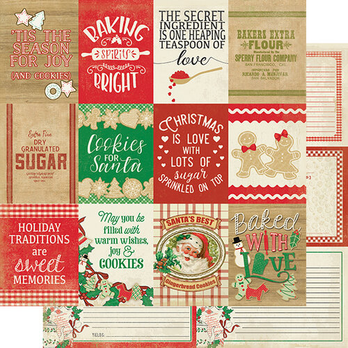 Authentique Paper - Christmas - Rejoice Collection - 12 x 12 Double Sided Paper - Twenty