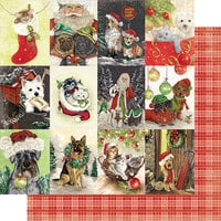 Authentique Paper - Christmas - Rejoice Collection - 12 x 12 Double Sided Paper - Twenty-one