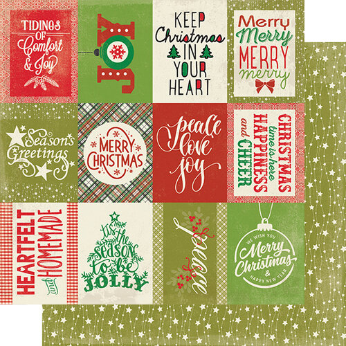 Authentique Paper - Christmas - Rejoice Collection - 12 x 12 Double Sided Paper - Twenty-two