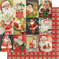 Authentique Paper - Christmas - Rejoice Collection - 12 x 12 Double Sided Paper - Twenty-three